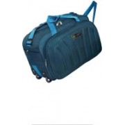 AM Creation (Expandable) 40 liters Travel Trolley Duffel bag With Spacious Compartment Duffel Strolley Bag(Blue)