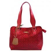 Arpera Women's Handbag (Red) (C11334)