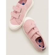 Mini Chaussures en toile à double bride PNK Fille Boden, Pink - 34