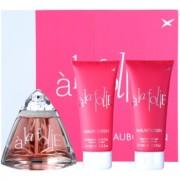Mauboussin A la Folie lote de regalo I. eau de parfum 100 ml + gel de ducha 100 ml + leche corporal 100 ml