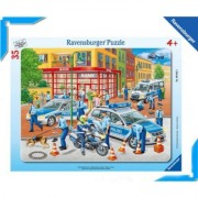 Puzzle Fortele Politiei, 35 Piese Ravensburger