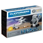 Set de construit Clicformers-Mini Spatiu 30 piese