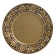 Platou decorativ Gold Antique