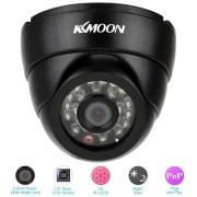 KKmoon HD 960H 800TVL 24 IR LEDs Dome Security Camera with Night Vision HD 960H