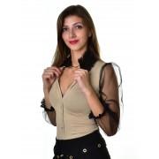 Mayo Chix női hosszú ujjú alkalmi body SELMA m2018-2Selma1213/arany