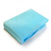 Husa impermeabila pentru saltea 120x 60 cm albastra