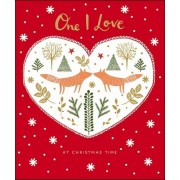 grote kerstkaart woodmansterne - one I love at christmas time
