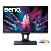 """BenQ Monitor 25"""" - PD2500Q (IPS, 16:9, 2560x1440, 4ms, 350cd/m2, DP, mDP, HDMI, USB, Speaker, mag.áll, VESA, Pivot)"""