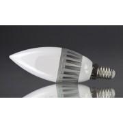 E14-5W-SMD2835-220VNW 5W Természetes fehér LED izzó