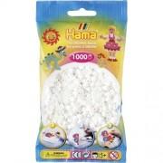 Hama Strijkkralen wit (001)