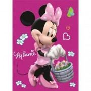 Paturica copii Minnie 80110 cm Disney CTL69826B B3406484 - Roz