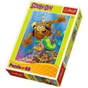 Puzzle 60 piese Diving Scooby Doo