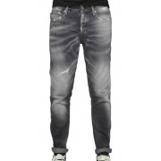 Jack & Jones Erik Slitna Jeans Grå Herr Jack & Jones