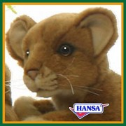 Hansa Stuffed Toy 4995 Child Lion 27 Lion CUB