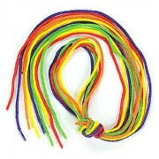 Lace It Up Tipped Bead Laces - Colorful Lace It Up Tipped Bead Laces