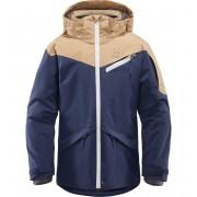 Haglöfs Niva Insulated Jacket Junior barnjacka Children Tarn Blue/Oak