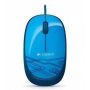 Miš Logitech M105, USB, plava, 12mj, (910-003105)