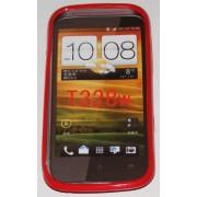 Силиконов гръб ТПУ за HTC Desire V T328w Червен