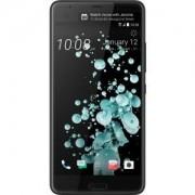 "Telefon Mobil HTC U Ultra, Procesor Quad Core 2.15/1.6 GHz, Super LCD 5, Capacitive touchscreen 5.7"", 4GB RAM, 64GB Flash, 12MP, 4G, Wi-Fi, Android (Negru) + Cartela SIM Orange PrePay, 6 euro credit, 4 GB internet 4G, 2,000 minute nationale si internation"