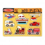 Melissa & Doug Hangos puzzle, Járművek