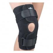 Safe-T-Sport Wrap-Around Hinged Knee Stabilizing Brace, Neoprene, X-Small, Black Part No. 37-350XSMBLK Qty 1