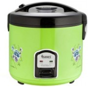 Warmex RC 999 G Electric Rice Cooker(2.8 L, Black & Green)