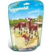 FAMILIE DE OKAPI Playmobil