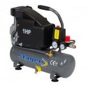 Compresor de aer Stager HM1010K 6L 8 BAR