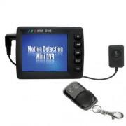 Camera ascunsa in nasture/surub si mini DVR cu ecran LCD SS-CA47, VGA, ecran 2.5 inch