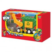 Toy / Game Wow Flip N Tip Fred Service Vehicle (6 Piece Set) Stimulate Learning Through Creative Play