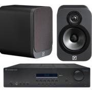 Pachete PROMO STEREO - Q Acoustics - 3020 + Cambridge Audio Topaz SR10 Matte Graphite