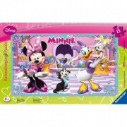 PUZZLE Copii 3Ani+ MINNIE MOUSE , 15 PIESE