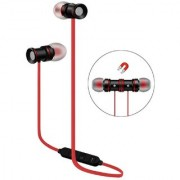 Deals e Unique Wireless Bluetooth Headphone Sports Magnet Earphone Headset Gym Running Outdoor(Multi-Color)