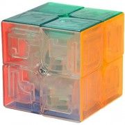 Willking 2X2X2 Stickerless twisty Speed Cube Anti-Pop Smooth Puzzles Pocket Size Portable Magic Puzzle Cube