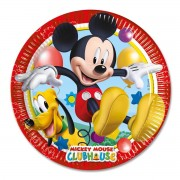 8 Farfurii Mickey Mouse Playful Party - 23 cm