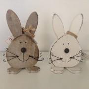 Simpatica decorazione a forma di coniglietto - piccolo