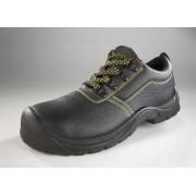 Wisent Work Wear Sicherheits- und Arbeitsschuh S3, Farbe schwarz, Gr.45