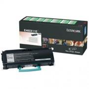 Toner Lexmark E460X11E black, E460 15000str.