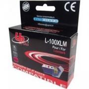 Глава за струен принтер LEXMARK 14N1070E, 100XL Magenta, Lex S305/S405/S505/S605/Pro705/Pro805, 13 ml, Uprint, LF-INK-LEX-14N1070E-UP