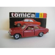 [Tomica 30th Anniversary Reprint Black Box Tomica Tomica No.1 Bluebird Sss Coupe / Door Opening And Closing (Japan Import)