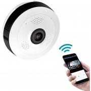 Cámara Vision 360° discreta con grabación panorámica Wifi Importadora USA