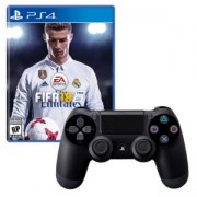 Игра FIFA 18 за PlayStation 4 - PS4 + Геймпад - Sony PlayStation DualShock 4 Wireless