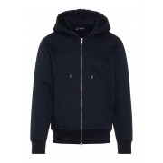J.LINDEBERG Chip Zip Hood Lux Sweat Hoodie Man Blå