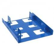 Adaptor Sharkoon de la 3.5 inch la 2x 2.5 inch HDD/SSD, culoare albastra