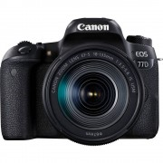 Digitalni SLR fotoaparat Canon EOS 77D EF-S 18-135 mm IS USM 24.2 MPix Crna Bluetooth