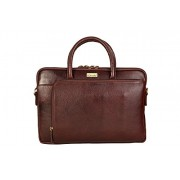 "SCHARF Casa Grace- Eye on Him Premium Genuine Leather 13"" Laptop/ Macbook Crossbody Bag"