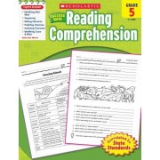 Scholastic Success with Reading Comprehension, Grade 5, Paperback