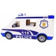 Masinuta duba de politie cu lumini si sunete pentru copii