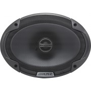 "Alpine - 6"" x 9"" 2-Way Coaxial Car Speakers with Polypropylene Cones (Pair) - Black"
