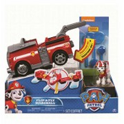 Set de joaca 2 in 1 vehicul transformabil marshall flip and fly patrula catelusilor